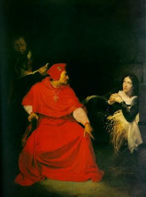 """""""Joan of arc interrogation"""" by Paul Delaroche - [1]. Licensed under Public Domain via Wikimedia Commons - http://commons.wikimedia.org/wiki/File:Joan_of_arc_interrogation.jpg#/media/File:Joan_of_arc_interrogation.jpg"""