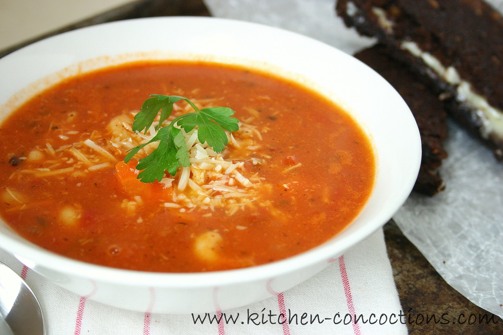 spicy tomato soup livinpaleo spicy tomato soup with herbed flatbreads ...
