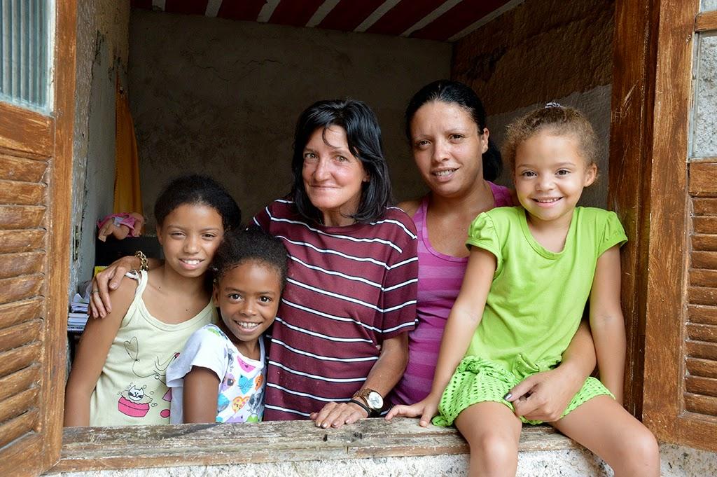 Uma das intervenções bem sucedidas do Creas foi o caso da dona de casa Vera Lucia de Lima