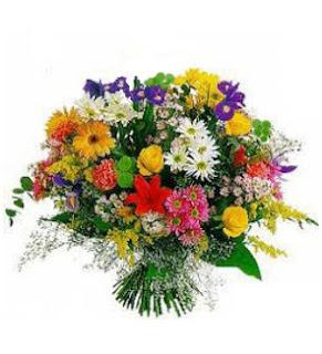 Flores como muestra de amistad