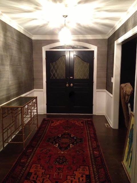 Foyer Powder Room : Sadie stella november