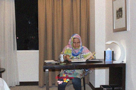 view dari kamar hotel,interior Pengalaman menginap di Hotel aston makassar,