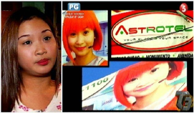 Former Employee 'Arriane Foronda' Photos Used as Astrotel Hotel Instant Model