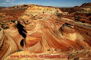 Wisata Arizona Batu merah yang indah