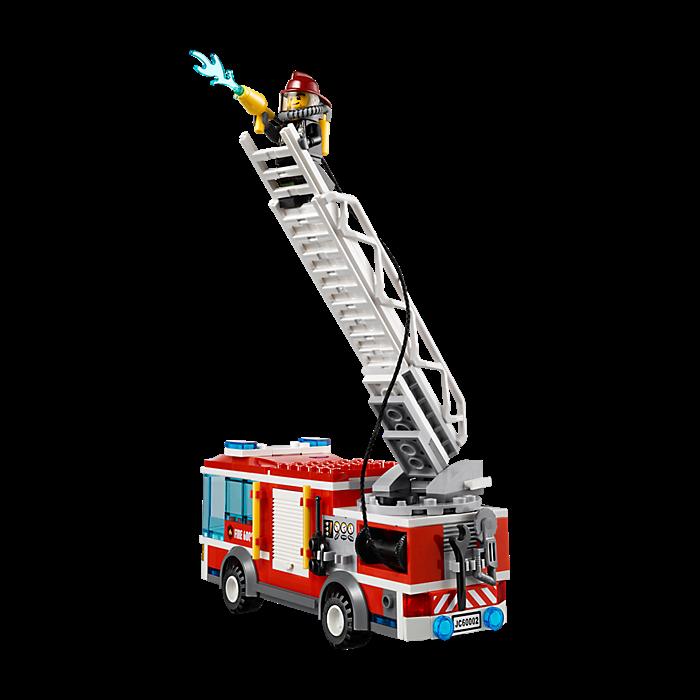 Lego City Fire Truck 60002 My Lego Style