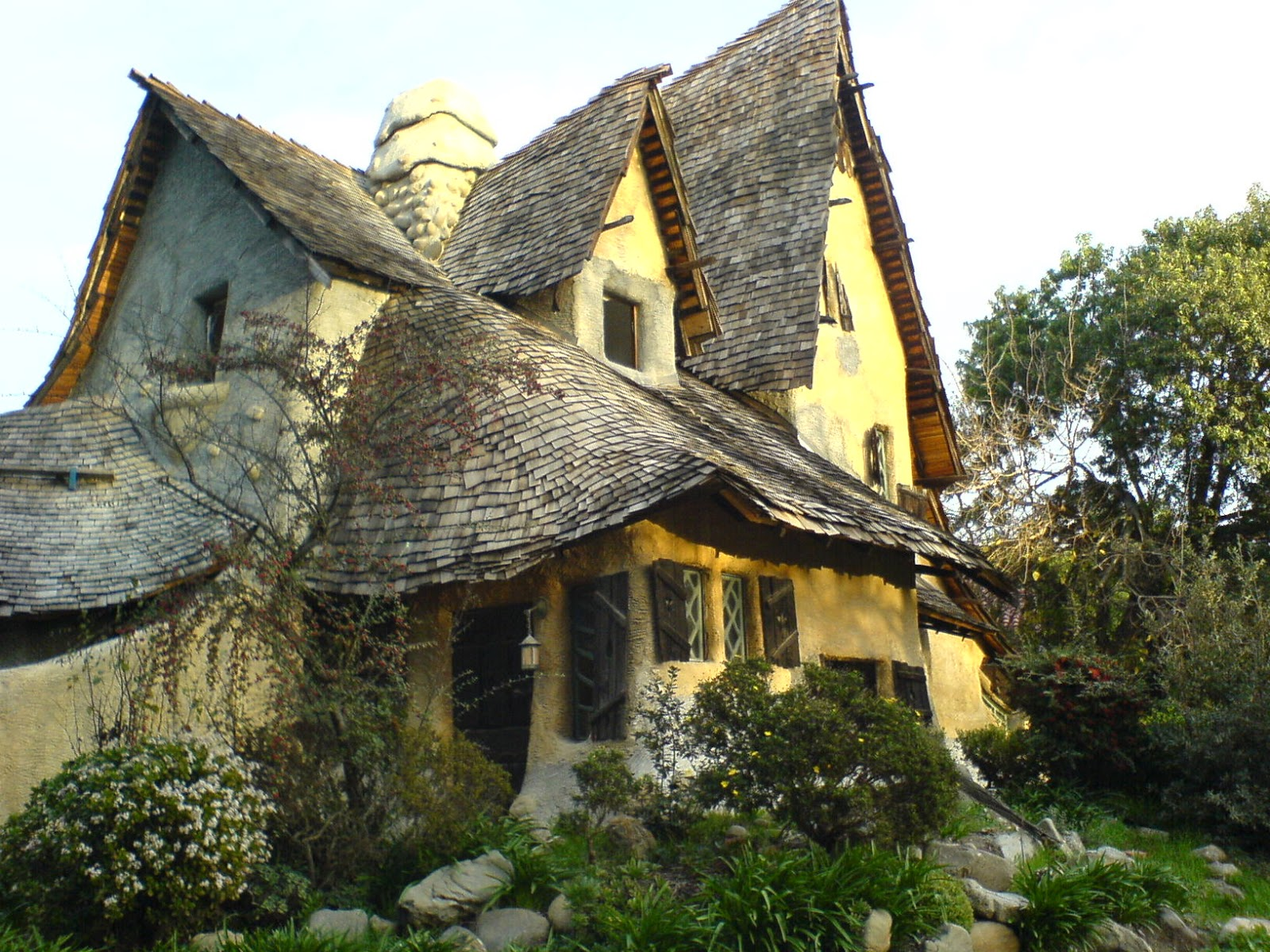 Inkspired musings fanciful homes and their paper dolls - Storybook houses dreamy home ...