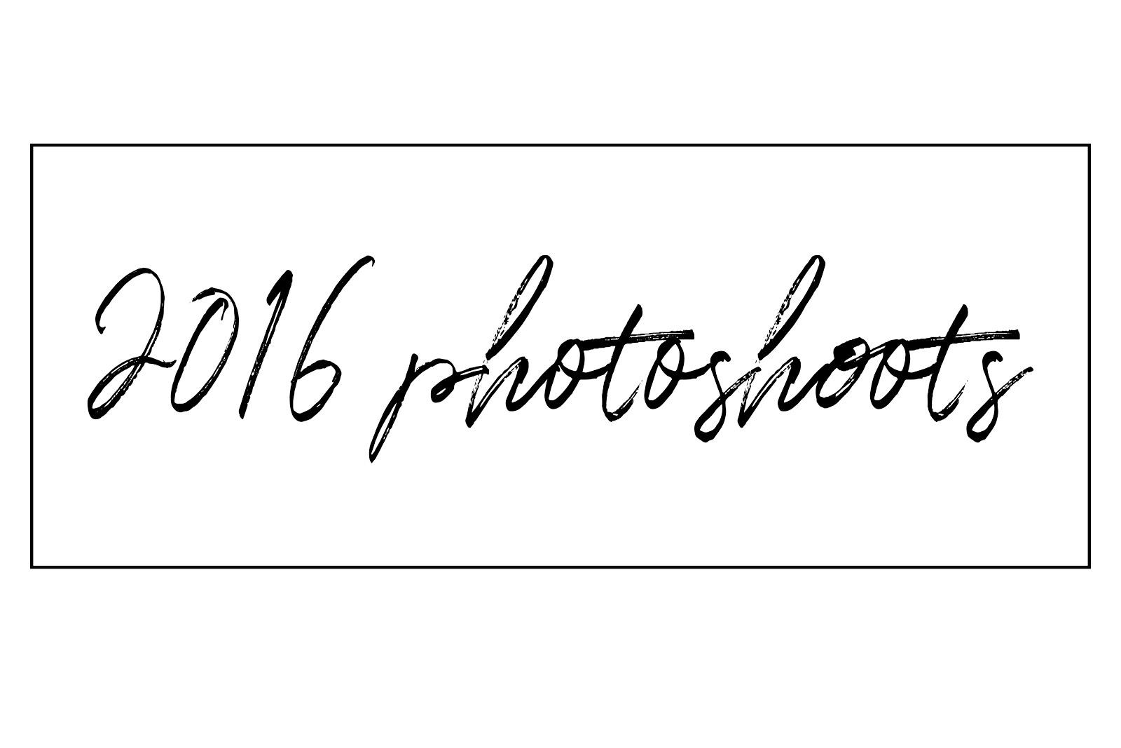 2015 Photshoots