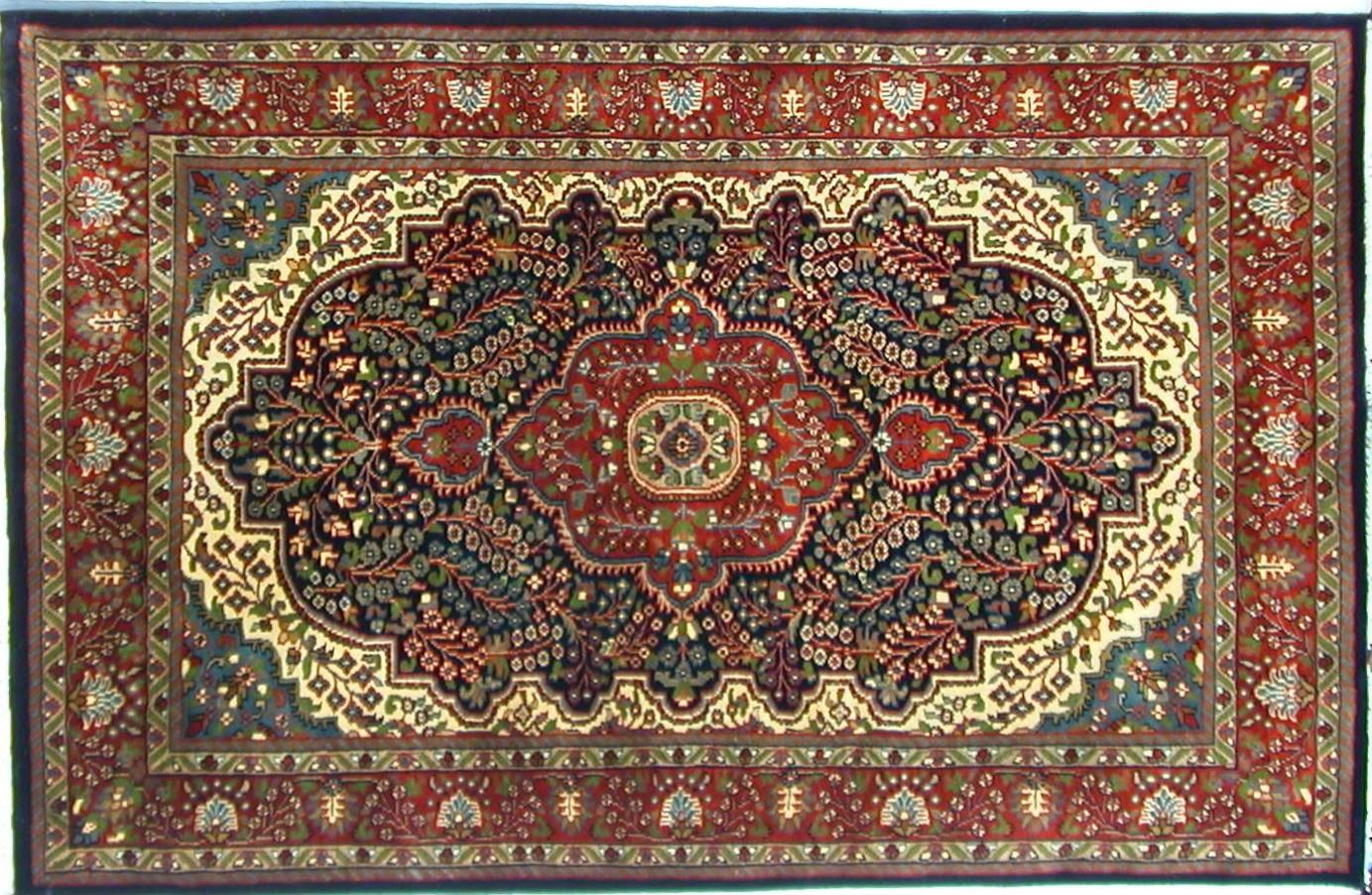 Handicrafts of india june 2009 for Indian carpet designs