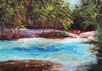 Blue Springs on the Withlacoochee River