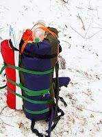 легкий самодельный рюкзак с легким каркасом