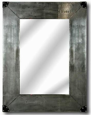 Muebles de forja mueble forrado en aluminio serie metalia - Aluminio espejo ...