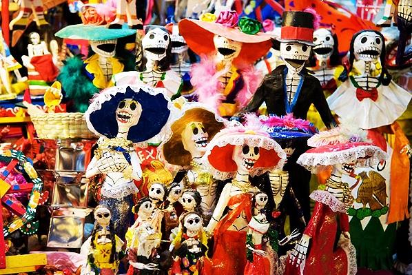 Dia dos Mortos é festa no México