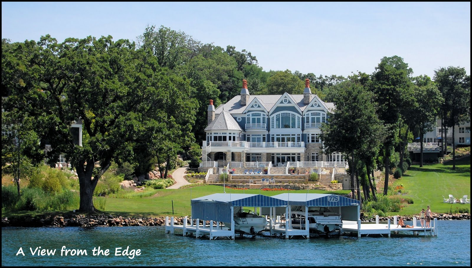Finally This Was The LARGEST House Ever Built In Lake Geneva The