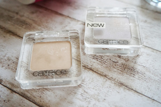Catrice - Abolute EyeColour, 340 Ooops...Nude Did It Again!, 890 Here Comes The Bright!