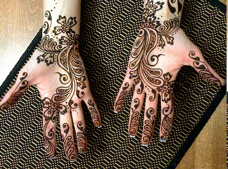 Mehndi Hairstyles Review : Hairstyle review and pictures latest easy mehndi designs