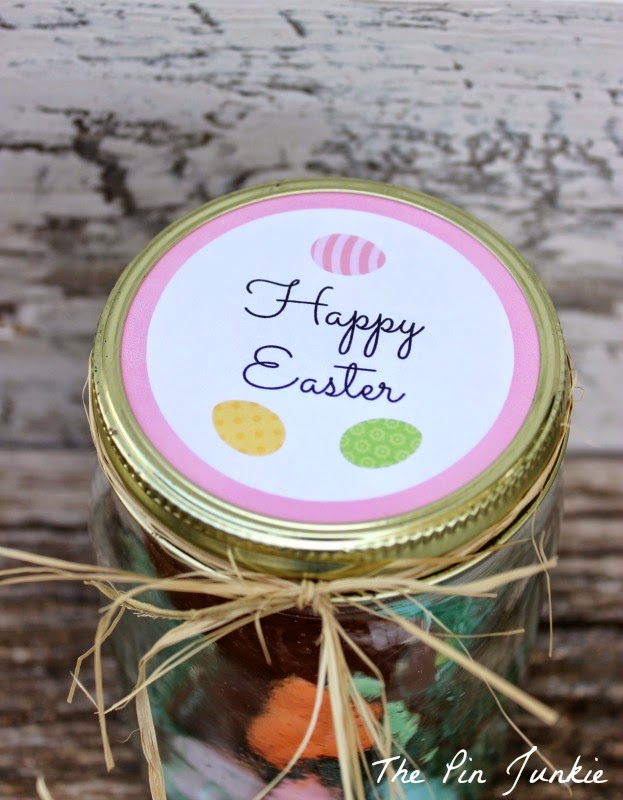 Easter printables mason jar labels