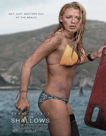 Poster Of Free Download The Shallows 2016 300MB Full Movie Hindi Dubbed 720P Bluray HD HEVC Small Size Pc Movie Only At exp3rto.com