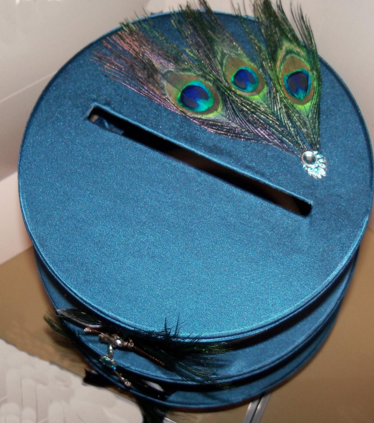 BlueRoomInk Wedding Card Box