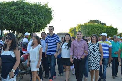 VEREADOR MAX DE ZÉ DE TOINHO PARTICIPOU DO ENCERRAMENTO DA FESTA DE SÃO VICENTE NO POVOADO LAGOA D'ÁGUA.