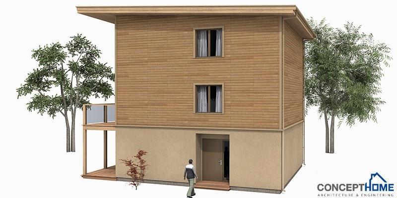 Ch99 Small Lot Beach House Plan Beach House Plans