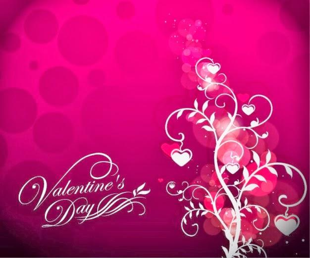Feliz San Valentin con Corazones