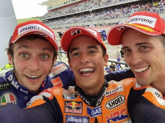 Race MotoGP COTA – Podium Lebih Berwarna!