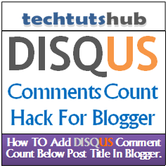 How to Add a Comment Counter to Disqus in Blogger