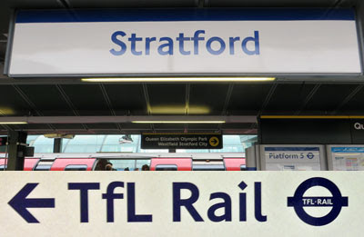 Enfield Town Overground if Enfield Town is The