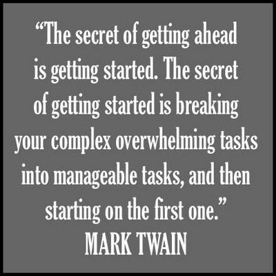 How To Get Ahead In Life - Mark Twain's Wisdom Quote