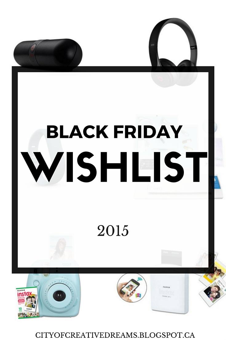 black friday 2015 wishlist