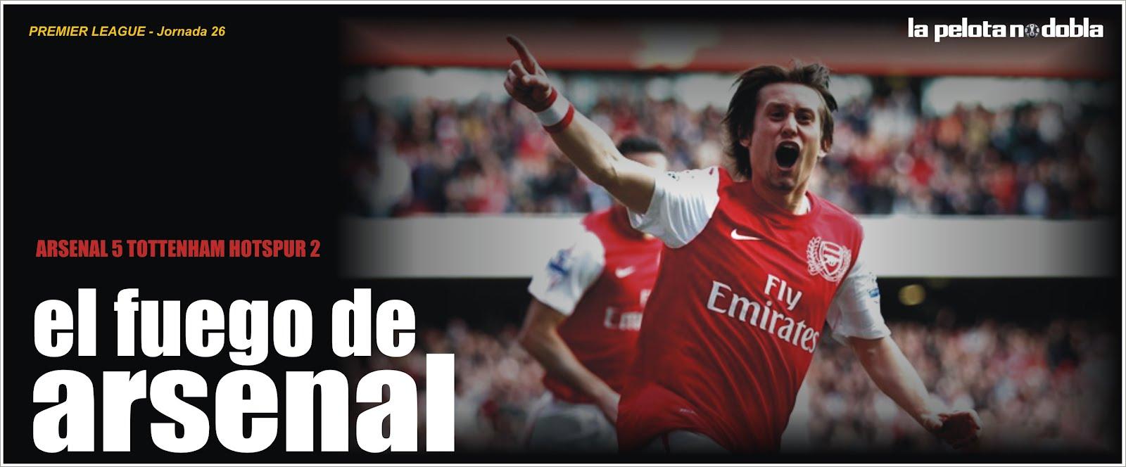 [N] El Arsenal le da vuelta un partidazo al Totenham
