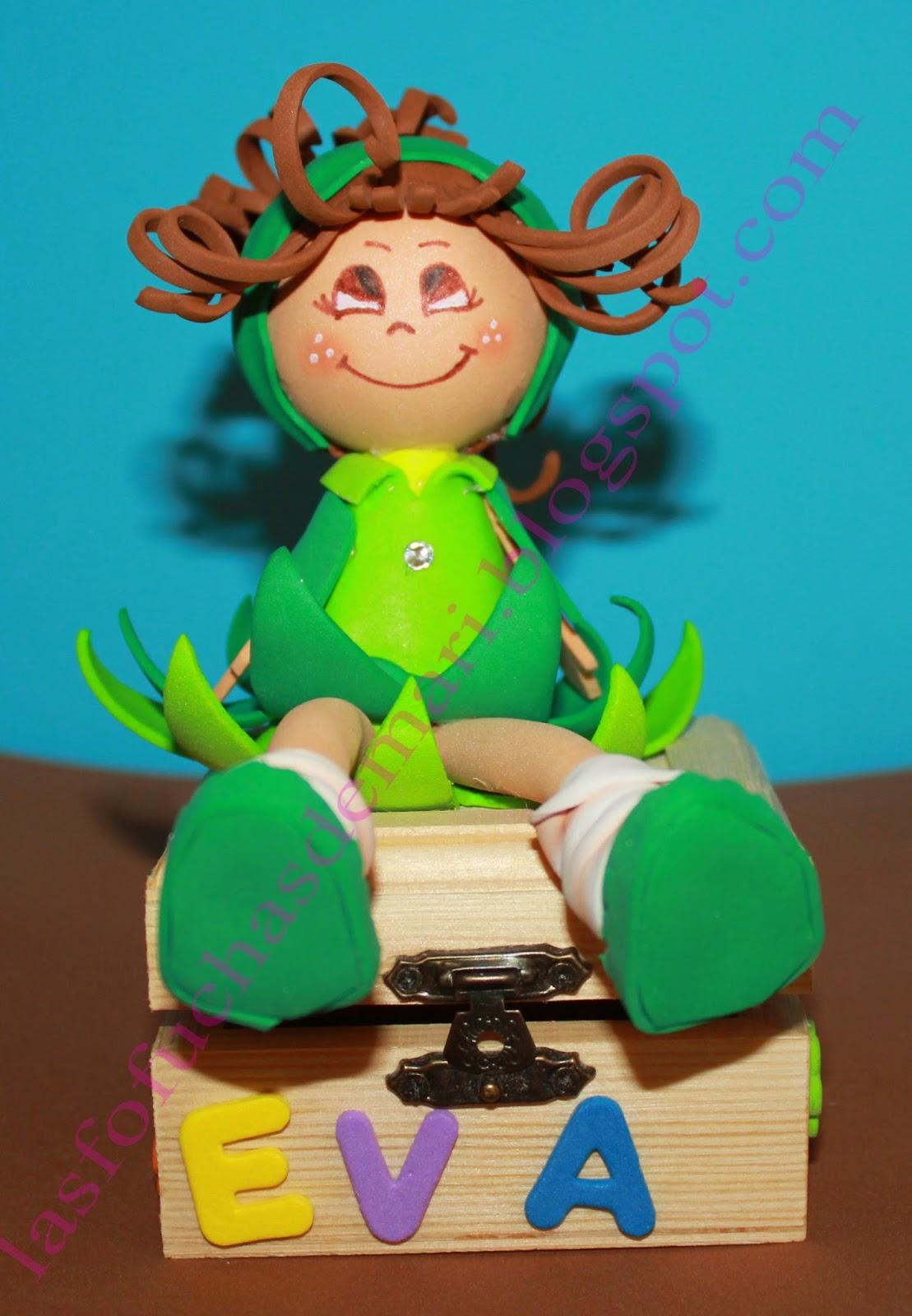 Mini Hada con caja (Eva)