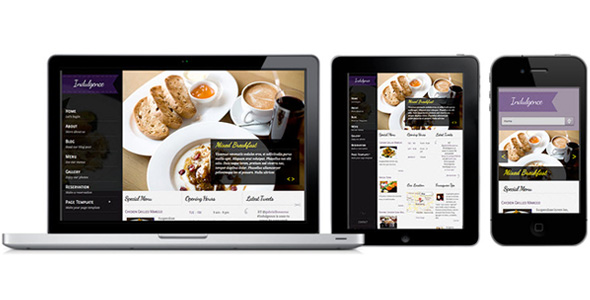 ColorLabs - Indulgence Restaurant WordPress Theme
