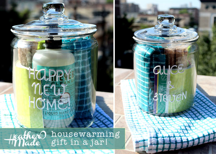 Heather o made a housewarming gift in a jar House warming present