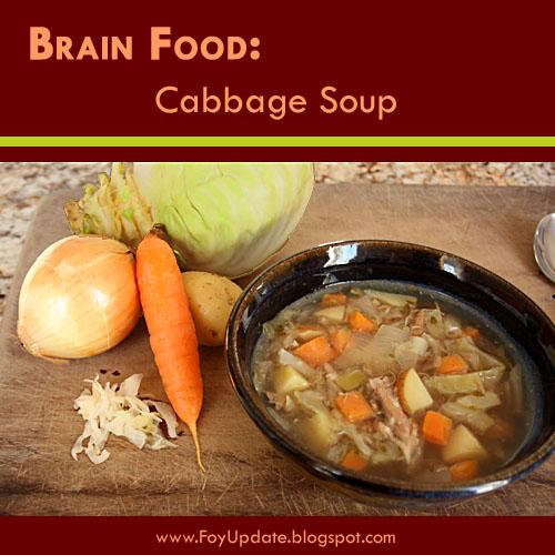 Sauerkraut Cabbage Soup - Paleo Recipe www.FoyUpdate.blogspot.com