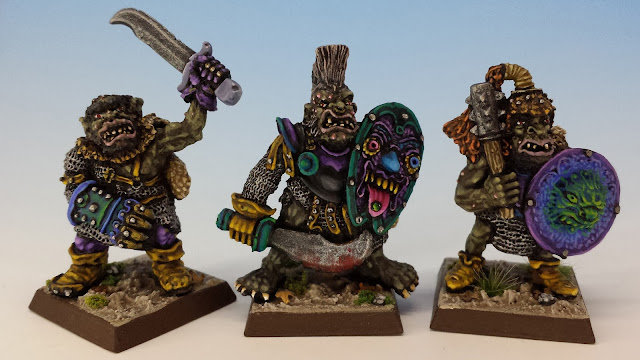 IC601 Black Orcs 1-3, Citadel (sculpted by Bob Olley, 1988)