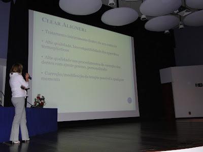 DSC03554 - Dra. Andrea Martinez dá palestra do Clear Aligner na Puc Campinas