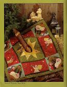Pie de árbol en patchwork