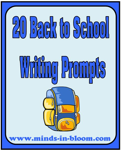 school writing prompts Improve your writing skills with practice essays based on these 30 expository writing prompts.