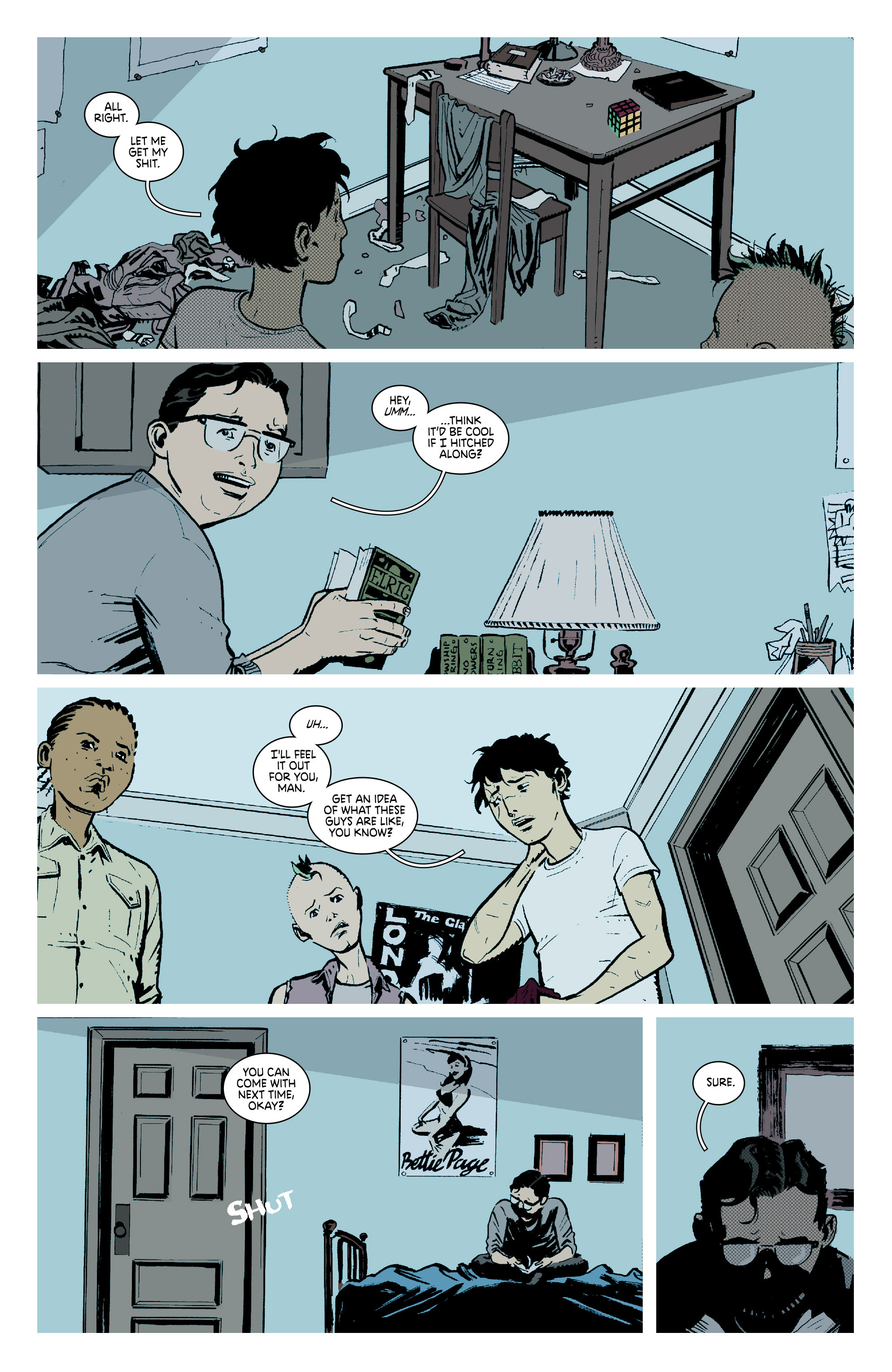 Read online Deadly Class comic -  Issue #7 - 12