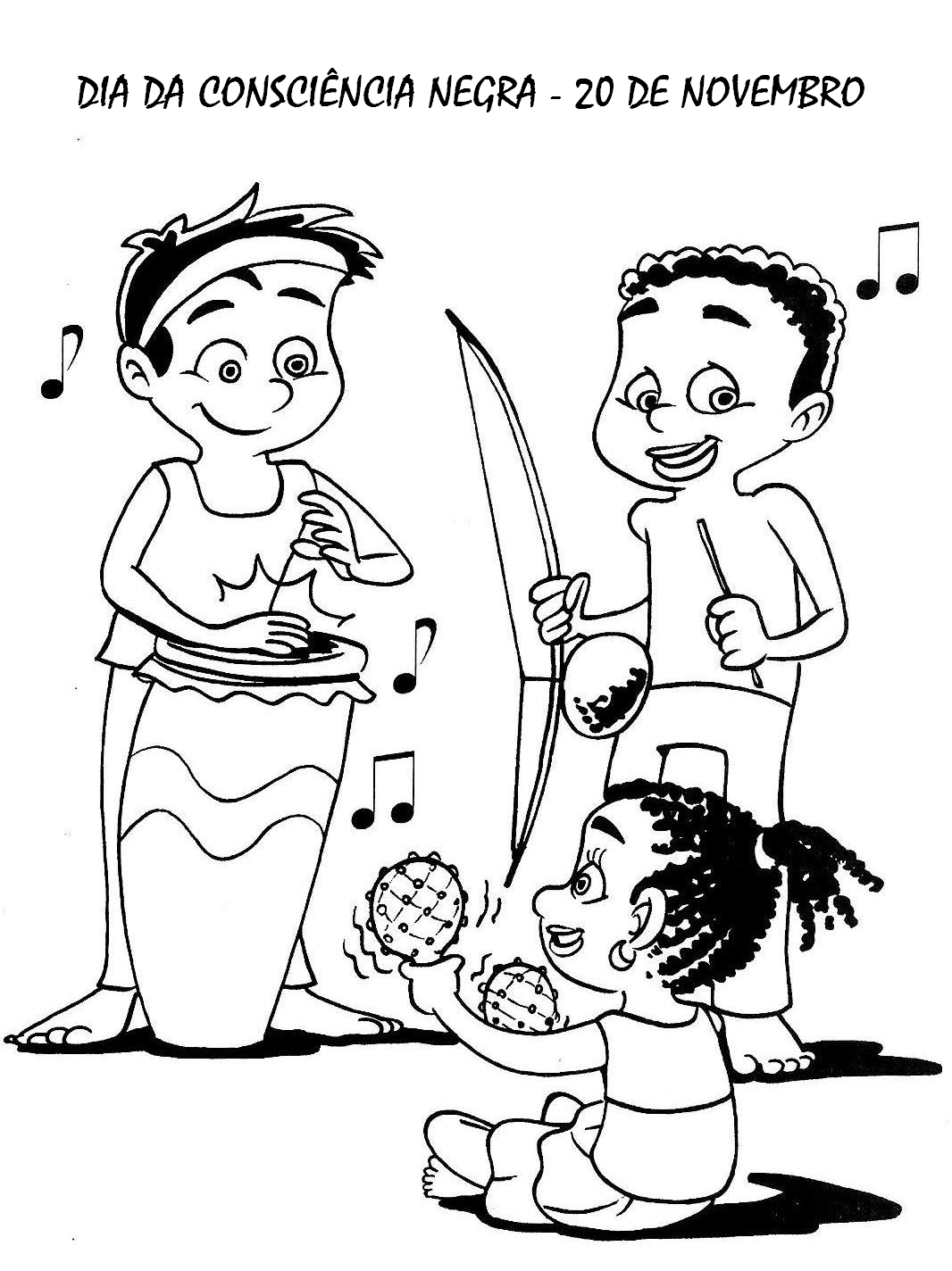 Algumas atividades para o Dia da Consciência Negra