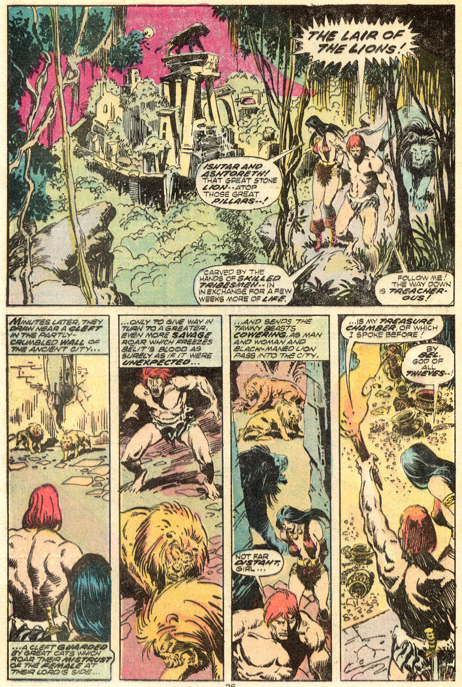 Conan the Barbarian (1970) Issue #62 #74 - English 15