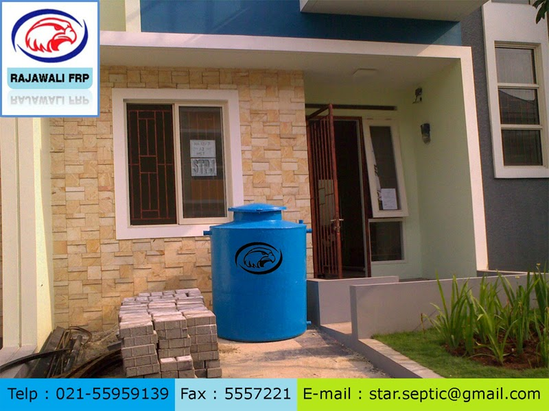 tangki air fibreglass