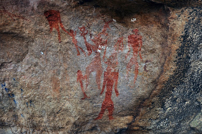 Thirumayam Rock Paintings- Dr.N.Arul Murugan  'THAAI  VAZI  SAMUTHAAYAM'