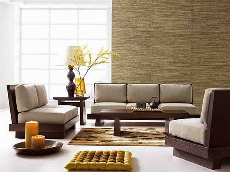 Japanese Style Minimalist Living Room