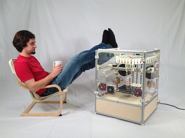 3 d printing the new age industrial A new industrial age is being built on sensors, 3d printing and the cloud inventive minds are finding all the tools they need to make physical products at low cost.