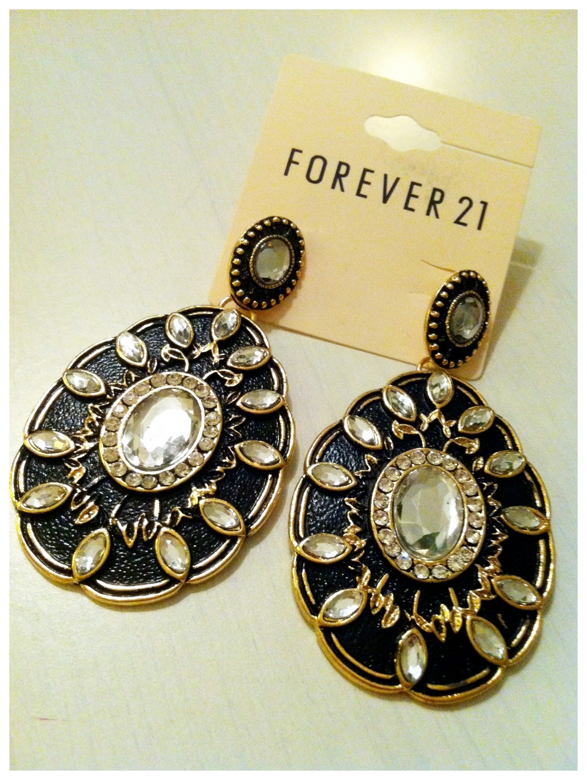 Naomi and jean n j jewelry forever 21 39 s irresistible for Forever 21 jewelry earrings