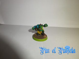 snotling pielverde equipo de ogro blood bowl
