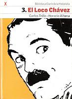 Capa da história em quadrinhos do personagem El Loco Chávez