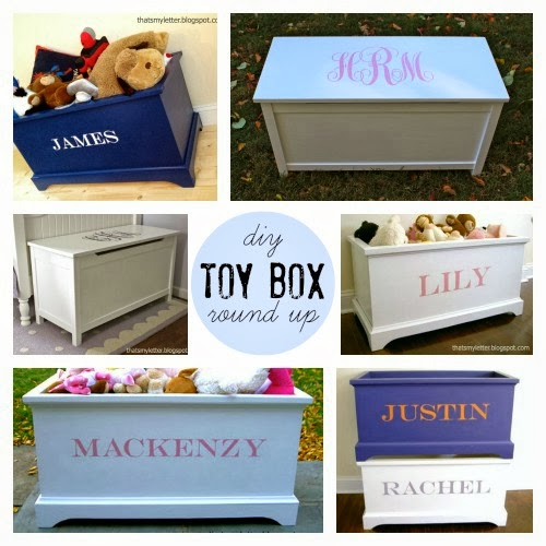 diy toy box round up